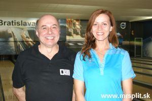 Najvy��ie v�kony 2. kola: Peter Melkner a X�nia Ivanov�