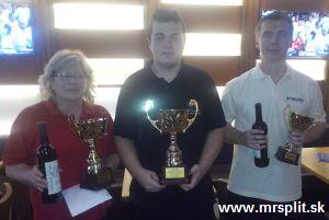 Bowland Cup 2014/2015, 1. kolo - TOP 3