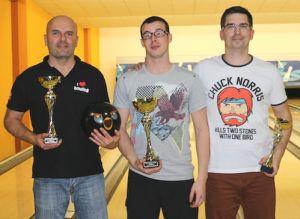 TOP 3: Miroslav Kon�k, Michal Homola a Ren� Bla�ek ml.