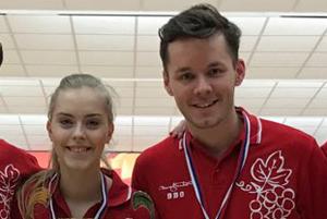 Petra Stanková a Michal Jakobei